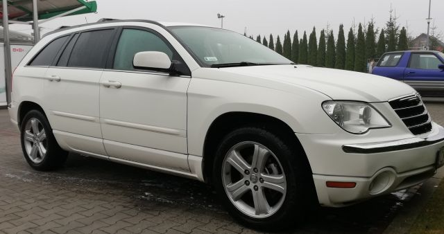 Chrysler Pacifica 4.0l 4x4 LPG faktura